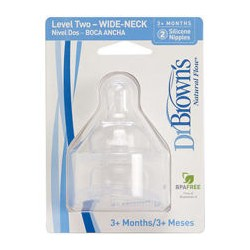 Dr Brown Level 2 WN Teats (2pcs)