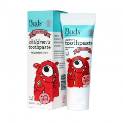 Buds Oralcare Organics Children's Toothpaste with Xylitol - Strawberry