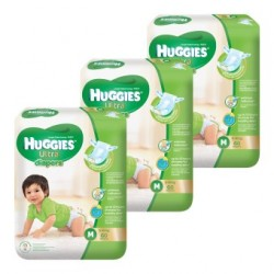 Huggies Ultra Super Jumbo M60 (3 Packs)