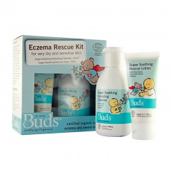 Buds Soothing Organics Eczema Rescue Kit