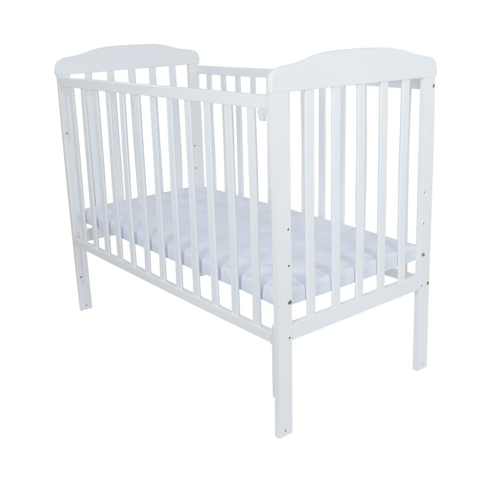 Baby bed online malaysia - Royalcot R310 Baby Cot White Pvc