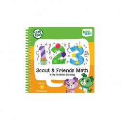 LeapFrog LeapStart Book, Scout  And  Friends Math