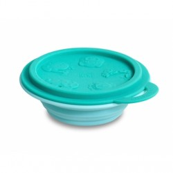 Marcus & Marcus Silicone Collapsible Bowl (Green Ollie)