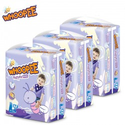 Whoopee Pants L48 x 3 Packs (FREE Vcool Nursing Cover worth RM49)
