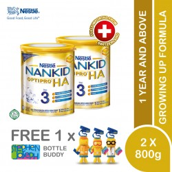 Nestle Nankid Optipro HA Stage 3 (800g x 2) [Free Stephen Joseph Bottle]