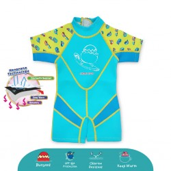 Cheekaaboo Kiddies Suit Thermal Swimsuit - Camper Van (Summer Paradise)