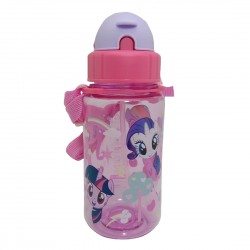 MY LITTLE PONY SWEET 350ML TRITAN BOTTLE WITH STRAW * BPA FREE