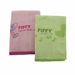 Fiffy Baby Bath Towel ( 2pcs Value Pack) - A98860