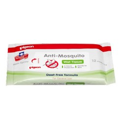 Pigeon Anti-Mosquito Wet Tissues, 12's -11723
