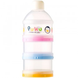PUKU 3 Layers Milk Powder Dispenser Formula Baby Infant Container Portable Box Case 100ml P11006-899