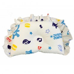 PUKU 100% Cotton Hollow Pillow SP91124 Music BLUE Design