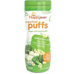 Happy Baby Organic Puffs (Apple & Broccoli)