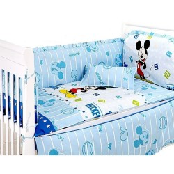 Royalcot Mickey Mouse Baby Cot Bedding Set