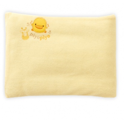 Piyo Piyo Pillow With Short Towel - Yellow