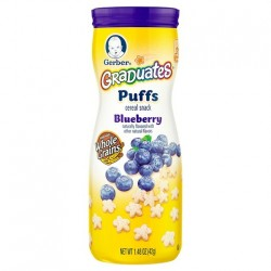 Gerber Puffs Blueberry