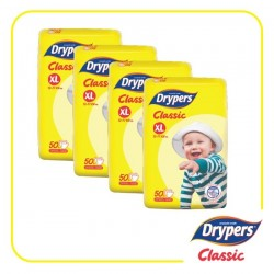 Drypers Classic Open XL50 (4 Packs)