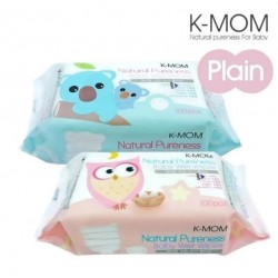 K-Mom Natural Pureness Baby Wet Wipes-100pcs