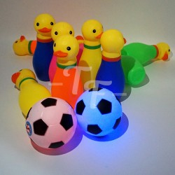 Yellow Duck Bowling Set With Flash Light