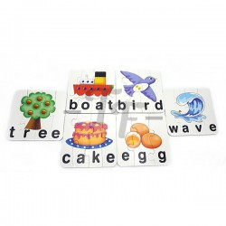 Toys Funtastic Matching Puzzle For Learning Of Spelling And Vocabulary