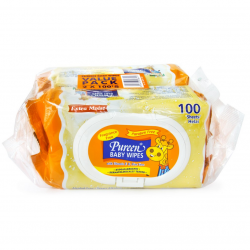Pureen Baby Wipes 100 sheets (Twin Packs)