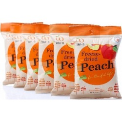 Wel.B Freeze Dried Peach Bundle (6 packets)