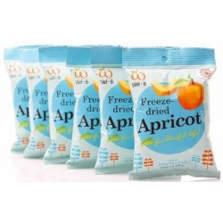 Wel.B Freeze Dried Apricot Bundle (6 packets)