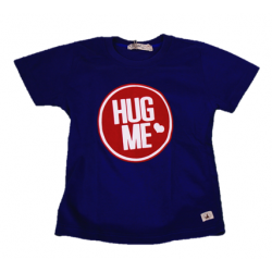 Baby Boys Hug Me Blue T-Shirt (Free Shorts) Flynn Collection