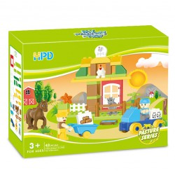 HPD The Horse is Blocks (43 pcs) Compatible with Lego Duplo