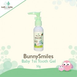 Kath + Belle Bunny Smiles Baby 1st Tooth Gel (Melon)'