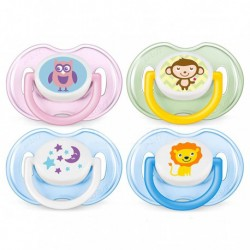 Philips Avent Classic Pacifiers 0-6M (Twin Pack) - Random Choose Color