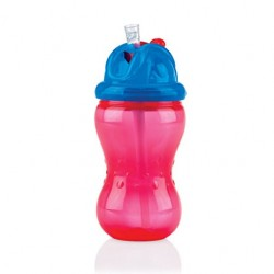 Nuby PP Flip It Straw Bottle 320ML