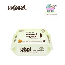 Natural Organic Baby Wipes - Original Plain Travel Pack 30 Sheets