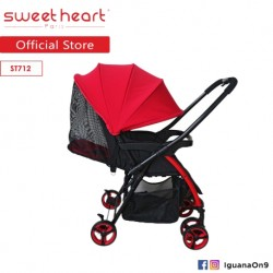 Sweet Heart Paris Compact ST712 Lightweight Stroller with Reversible Handlebar\\\'\''