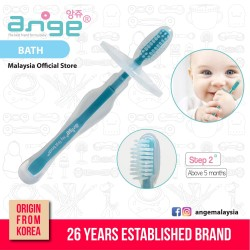 Korea Ange Toothbrush (Stage 2) with Soft Sensory BPA Free Silicone\''