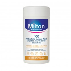MILTON Antibacterial Surface Wipes (100 Wipes)