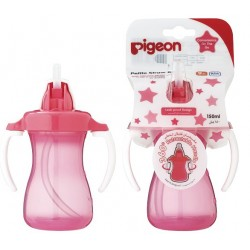 Pigeon Petite Straw Bottle 150ml (Pink) - 26150