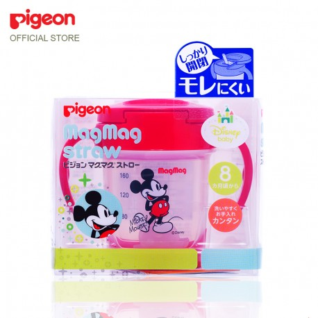 Pigeon Japan Mag Mag Straw Cup 160ml Mickey - 13720