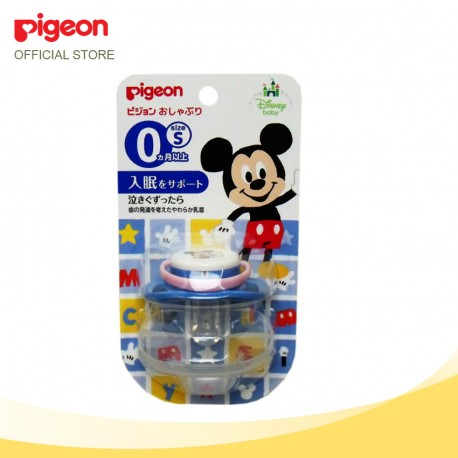Pigeon Pacifier S (0 month+) Mickey 13354