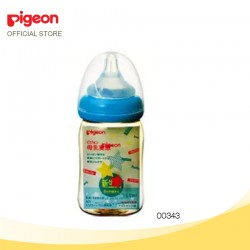 Pigeon Nursing Bottle PPSU Wide Neck 160ml (SS size, 0month+) - Star 00343