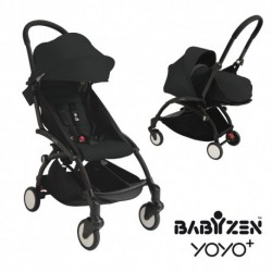Babyzen Yoyo+ 0+ and 6+ Black Frame