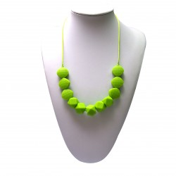Baby Moo Teething Necklace (Merry)