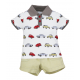 BABY STYLE ASIA BABY BOYS CLASSIC CARS POLO & SHORTS