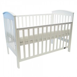 Babyhood Classic Curve 4-in-1 Cot (White)