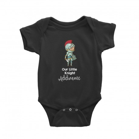 Babywears.my Our Little Knight in Armour 2 Addname T-Shirt Personalizable Designs For Boys