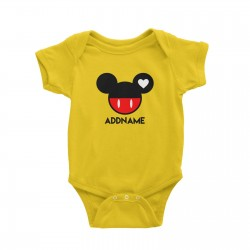 Babywears.my Mickey Love Head T-Shirt Personalizable Designs Matching Family Animal Cartoon