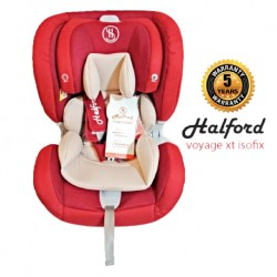Halford Voyage XT Isofix Car Seat 2018 (Red)