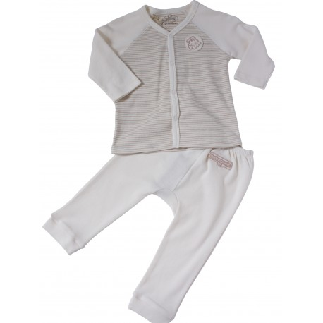 Bebeganic Baby Long Sleeve Body Suit Set 2
