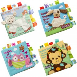 BabeSteps Baby Animal Cloth Book (Sound)