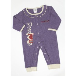Budding Baby Anti-Mosquito Apparel Jumper Girl - Purple