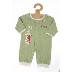 Budding Baby Anti-Mosquito Apparel Jumper Girl - Green